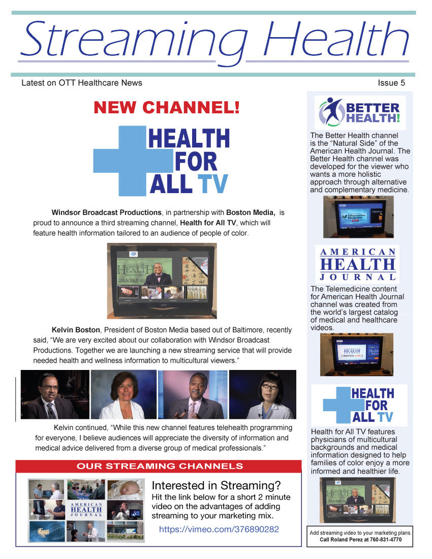 Streaming Health - Issue 5
